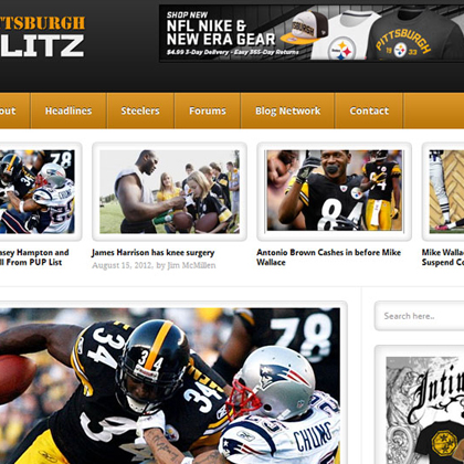 Pittsburgh Blitz Website